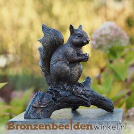 Bronzen eekhoorn beeld BBWAN1168BR