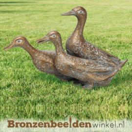 Bronzen eenden beelden BBW76040