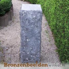 Hardsteen sokkel gekapt 75x25x25 cm