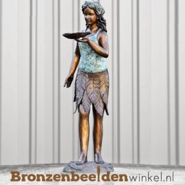 Bronzen fontein Vrouw met Schelp BBW8012
