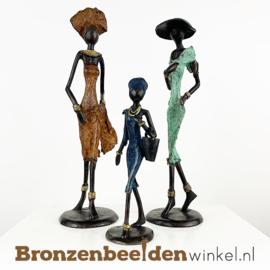 """Afrikaans kunst """"Set 3 st. (2xM-1xS)""""  BBW009br57"""