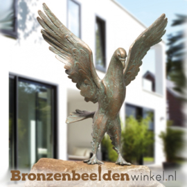 Bronzen duif beeld BBW37011