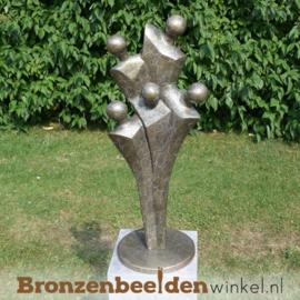 Beeld Gezin met 5 Personen brons BBW0425br