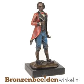 Muziekbeeldje Mozart brons BBWBG29