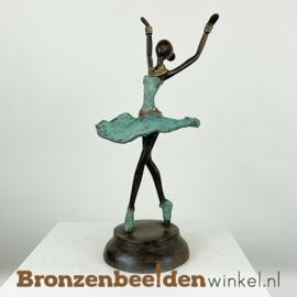 Afrikaans ballerina beeld 28 cm BBW009br92
