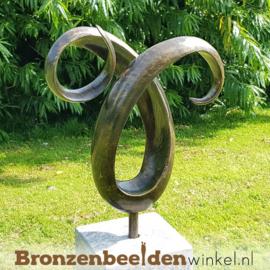 "Abstract tuinbeeld ""Ram Hoorns"" BBW91236br"