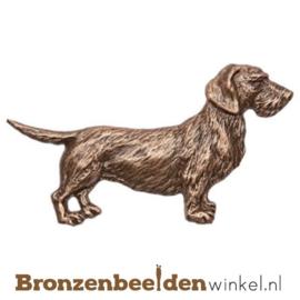 Hondenbeeldje brons BBWP34914