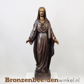 Bronzen Jezus Christus beeld BBW791br