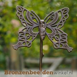 Bronzen vlinder beeld BBW1440