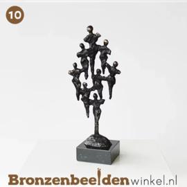 """NR 10 - Zakelijk beeldje """"Een team"""" BBW004br32"""