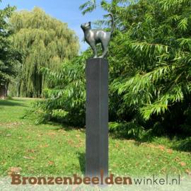 Bronzen kat beeld BBW2677br