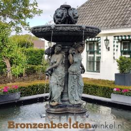 """Bronzen fontein """"De vier seizoenen"""" BBW55160"""