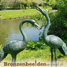 Vijverbeelden 2 kraanvogels BBW1178