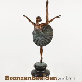 Ballerina beeldje brons BBW2219a