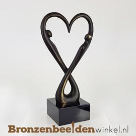 "NR 10 | 5 jaar getrouwd cadeau ""Oneindige Liefde"" BBW007br18"