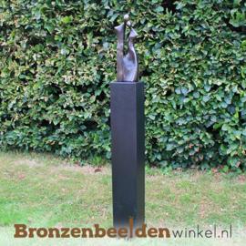 """Tuinbeeld """"Liefdevol Stel"""" brons BBW1400br"""