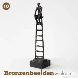 "NR 10 | 10 jaar in dienst cadeau ""De carrièreladder"" BBW005br43"