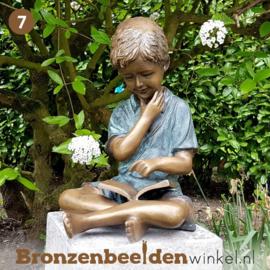 NR 7 | Cadeau man 65 jaar ''De lezende jongen'' BBW1561br