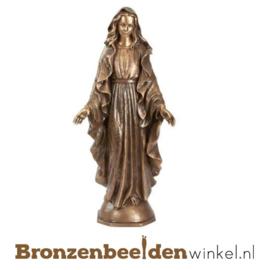 Mariabeeld brons zegenend BBWP65100