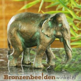 Olifanten beeldje in brons BBWR88277