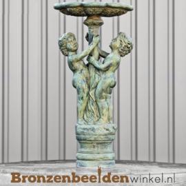 Bronzen fontein met twee jongetjes BBW8009