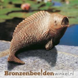 Bronzen vis beeld BBW87073