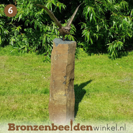 NR 6 | Verjaardagscadeau man ''Uil op basalt sokkel'' BBW1252br