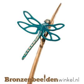 Bronzen reuzenlibelle beeld BBW84283