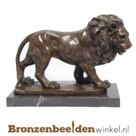 Bronzen leeuw beeld BBWJK20