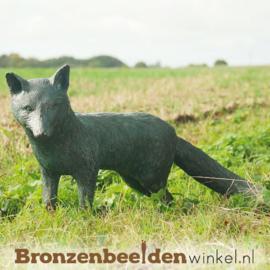 Beeld vos in brons BBWR88282