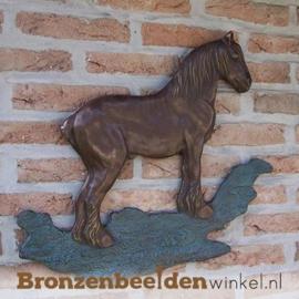 Muurdecoratie van een Brabants trekpaard BBW1237br