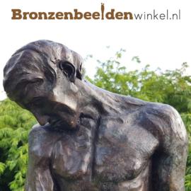 """Groot beeld """"Adam van Rodin"""" BBW55906"""