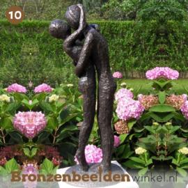 NR 10 | Verjaardagscadeau ''Bronzen liefdespaar'' BBW1728br