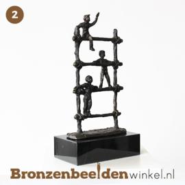 NR 2 | Afscheidscadeau meester ''Spelende kinderen op klimrek'' BBW005br77