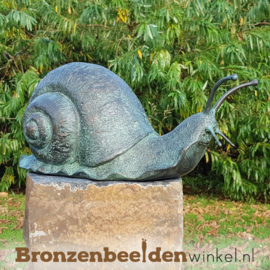 Bronzen reuzenslak beeld BBWAN0413BR