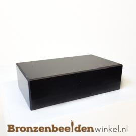 2x Marmeren sokkel 4x14x8 cm