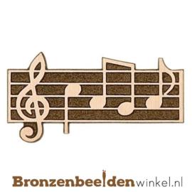 Muziekbeeldje notenbalk BBWp35050