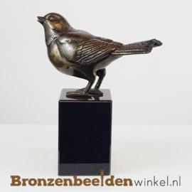 Asbeeld vogel in brons BBW80001