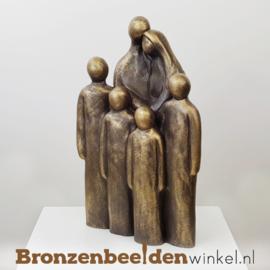 "NR 7 | Cadeau man 60 jaar ""Vader en moeder met 4 grote kinderen"" BBW064br04"