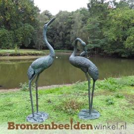 Tuinbeeld kraanvogel paar BBW571 & BBW571-1