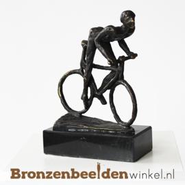 """Beeldje """"Wielrenner op racefiets"""" BBW005br64"""
