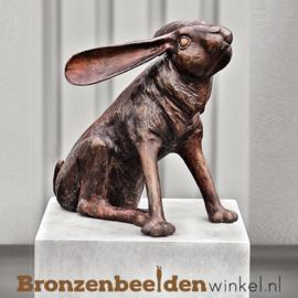 Hazen beeld in brons BBW94574