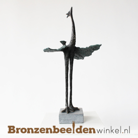"Abstract dierenbeeld ""Paradijsvogel 2"" BBW004br23"