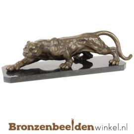 Bronzen panter beeld BBWBR88