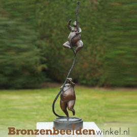 Kunst Dikke Dames beeldjes van brons BBW49032br