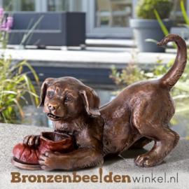 Aandenken hond brons BBW37219