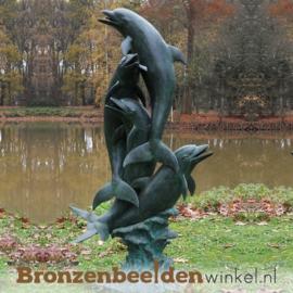 Bronzen dolfijnen  als fontein BBW868BR