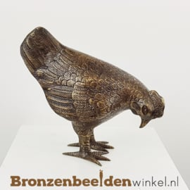 Hen beeld brons BBW5337br