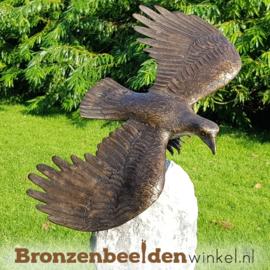 Tuinbeeld roofvogel arend op sokkel BBW1253br