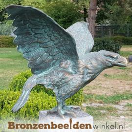 Bronzen steenarend beeld BBWR88349